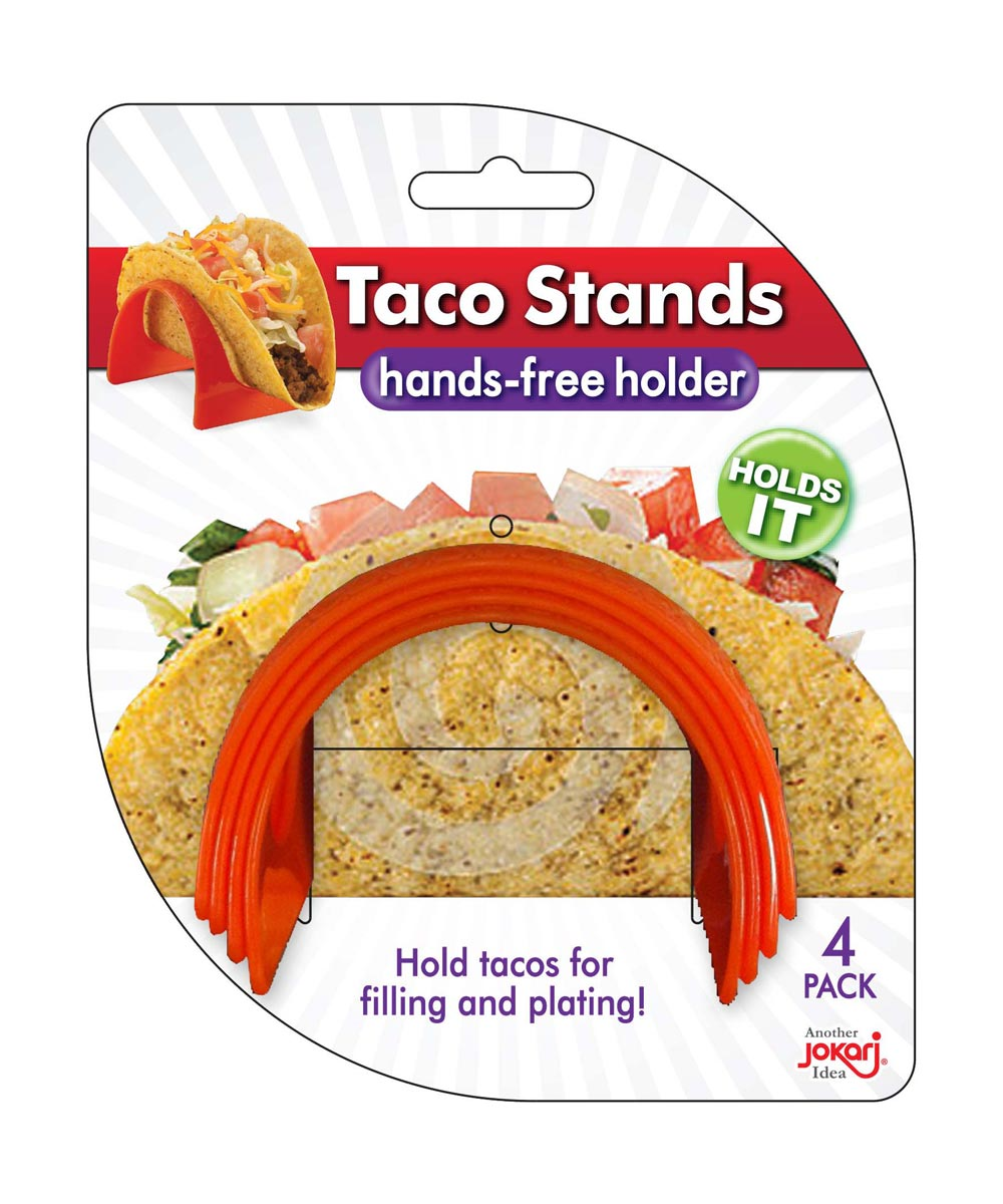 Hands Free Taco Stands, 4 Pack