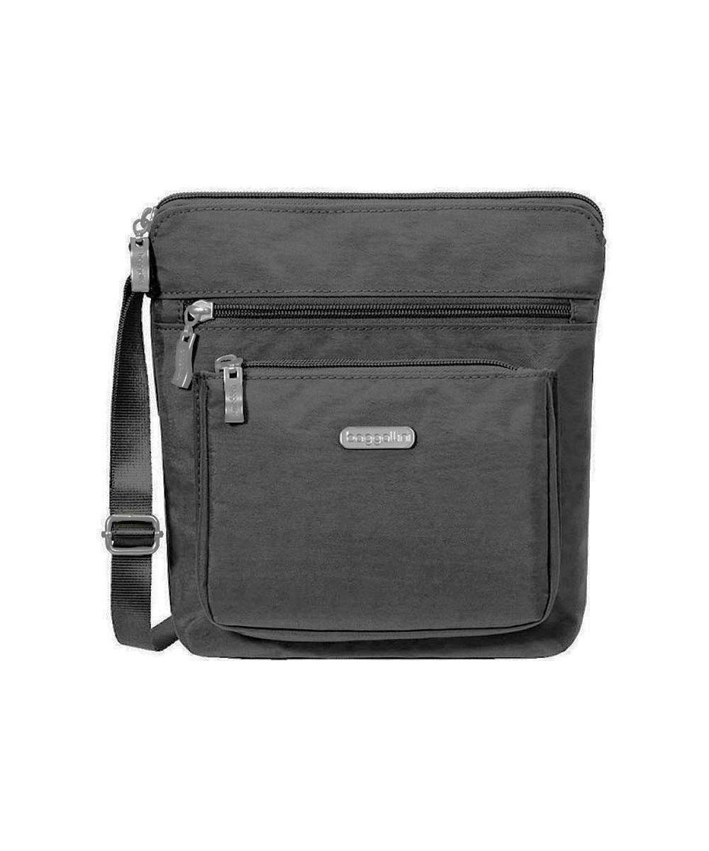 Pocket Crossbody Bag, Charcoal