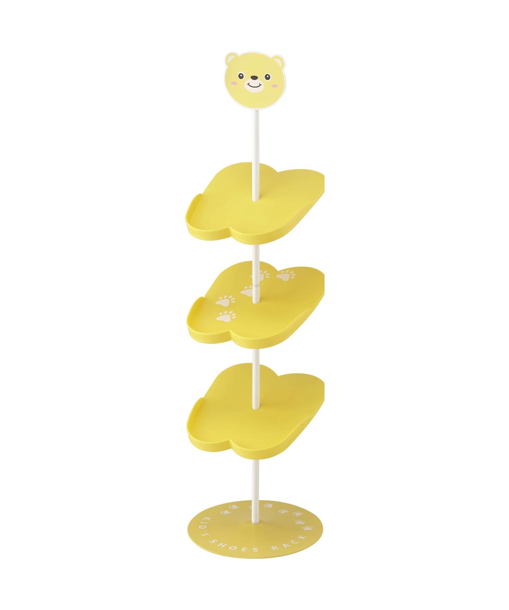 Yellow Bear Kid's Shoe Rack