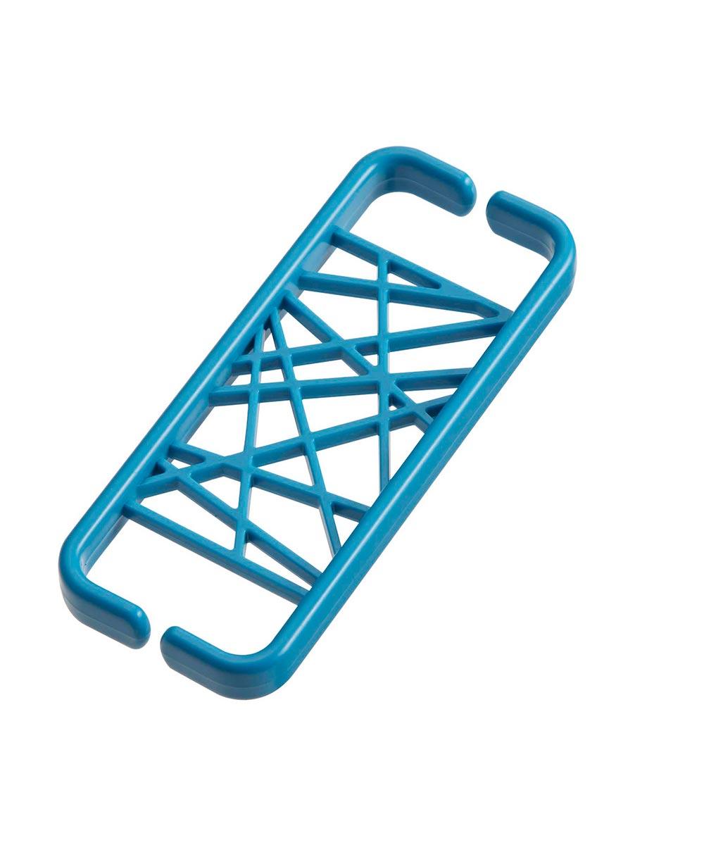 Web Earbud Cord Holder/Organizer, Blue