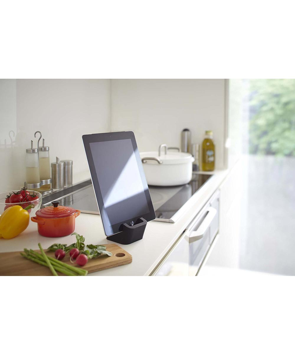 Square Mobile Tablet & Phone Stand, Black