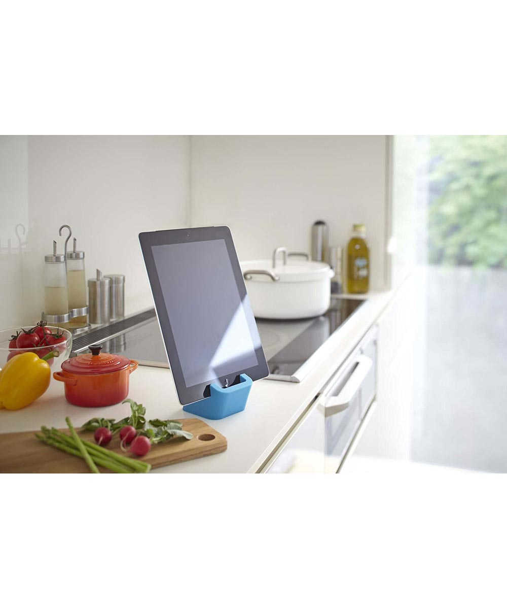 Square Mobile Tablet & Phone Stand, Blue