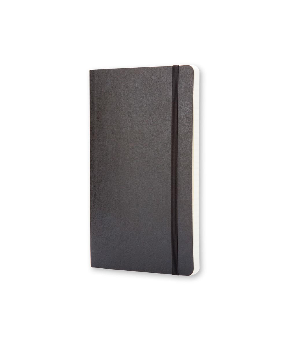 Classic Soft Cover Ruled Notebook Journal, Pocket 3.5x5.5 Inch, Black