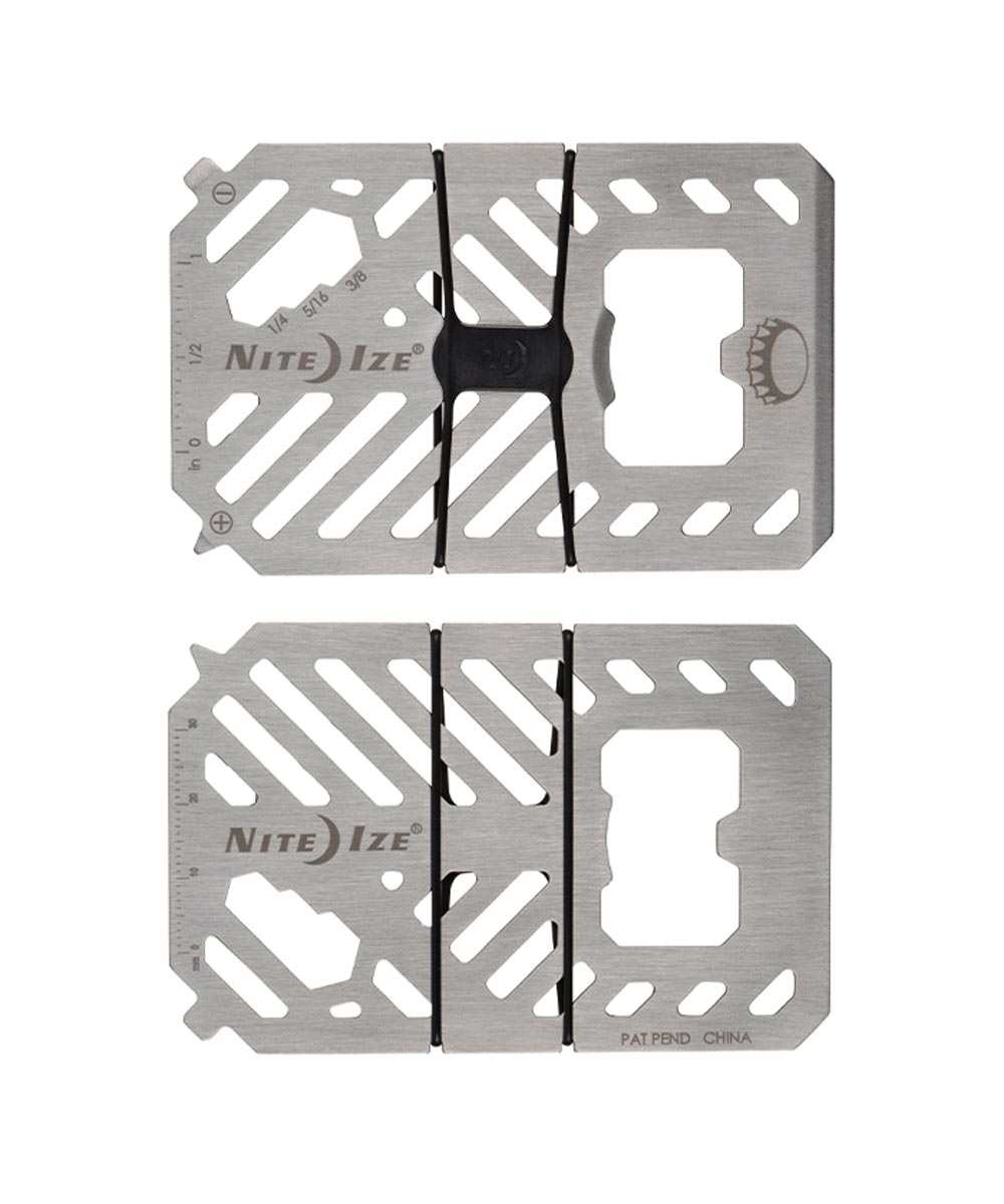 7-In-1 Wallet Multi Tool, Stainless
