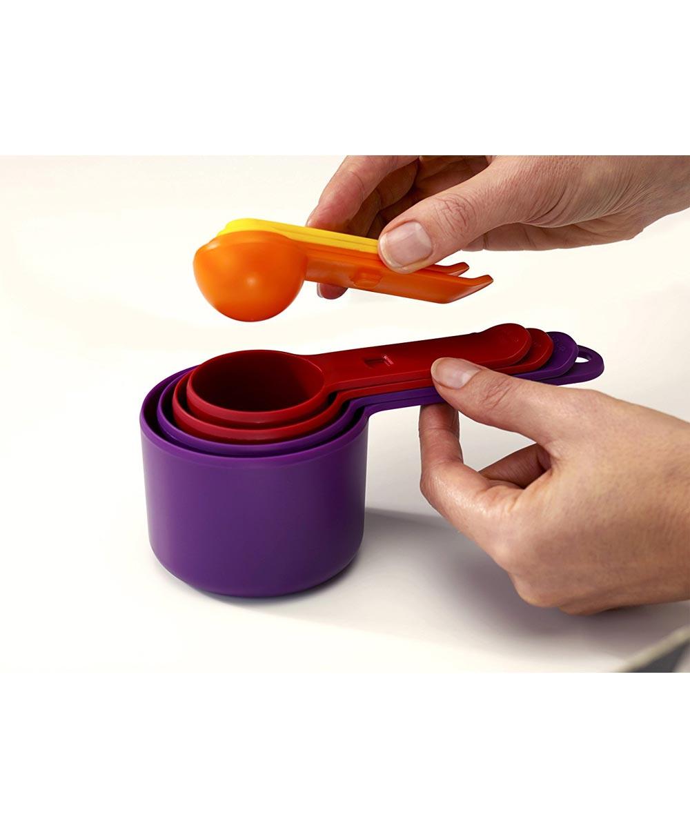 Nest 8-Piece Measuring Cups, Multicolor