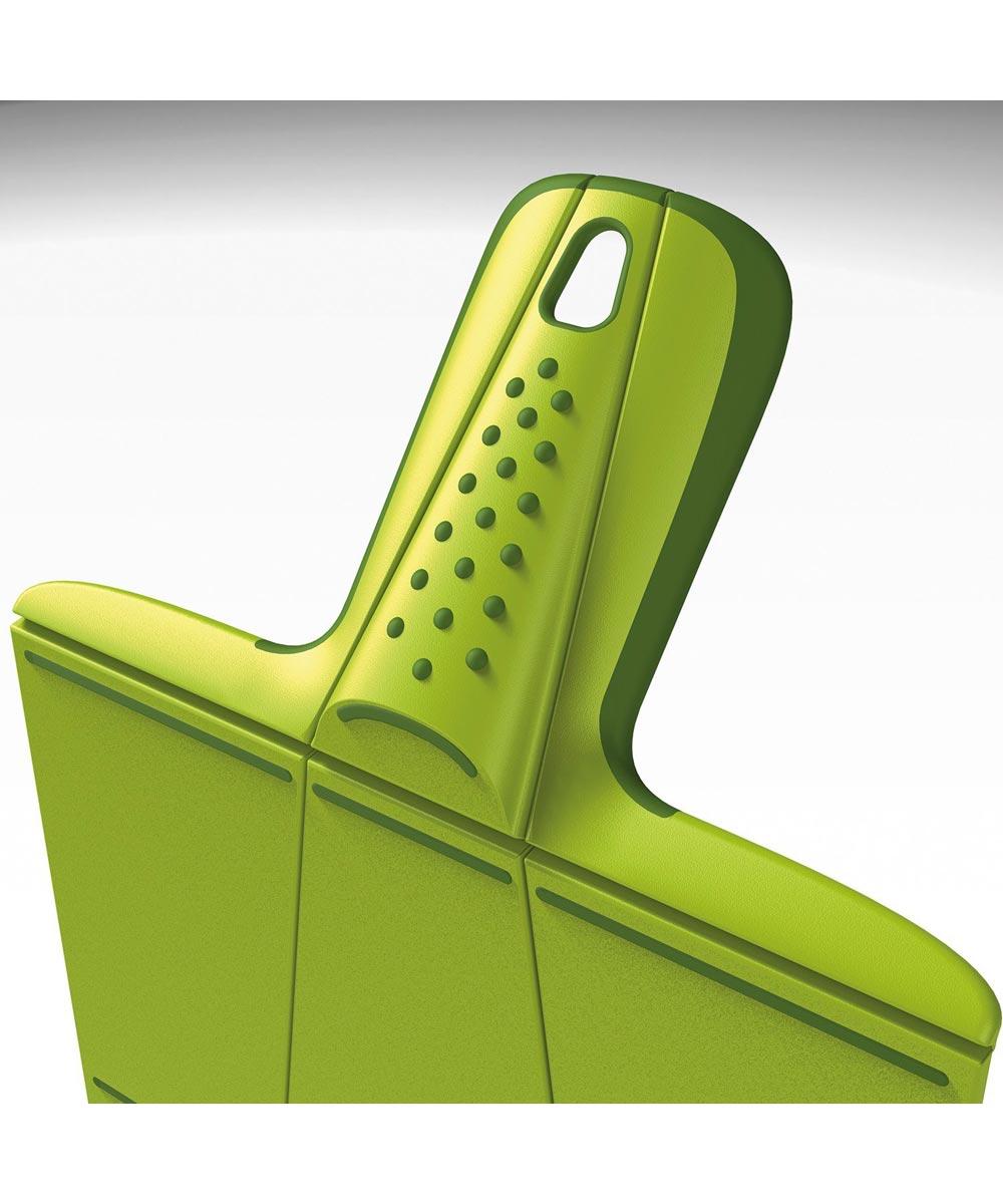Chop2Pot Folding Plastic Cutting Board, Small, Green