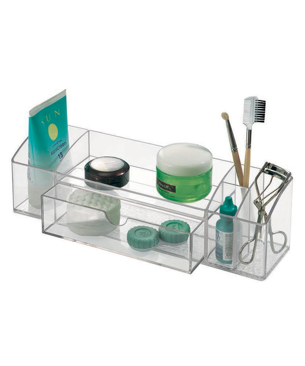 Med+ Medicine Organizer Tray with 5 Compartments & 1 Drawer
