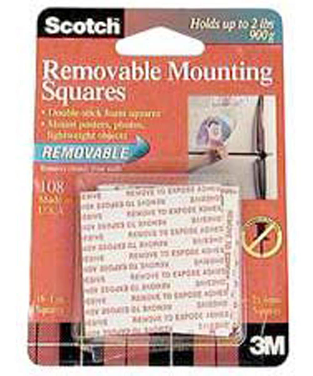 Removable Mounting Squares