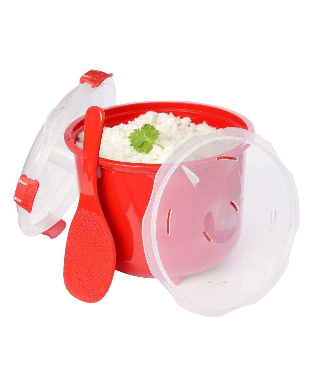 Simply Organized Microwavable Rice Steamer