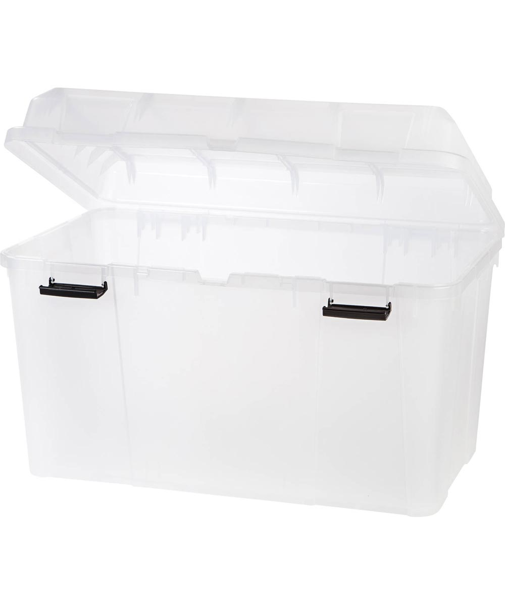 Hinged-Lid Utility Trunk, 34.5 Gallons