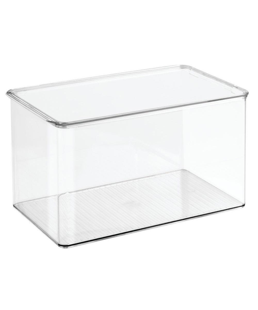 Simply Organized   Clarity Bath Storage Box Organizer with ...