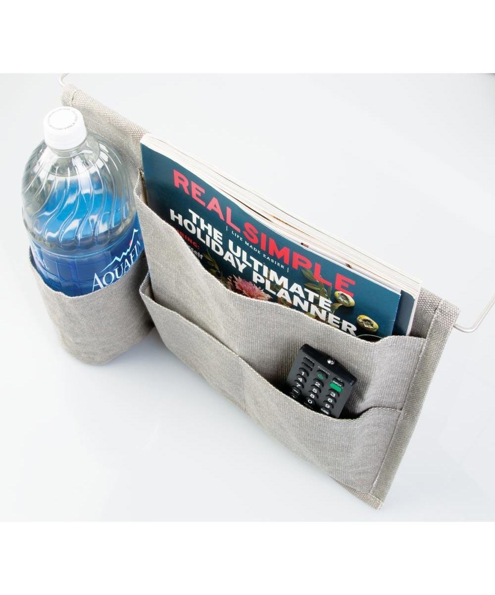 Wren Bedside Caddy Storage Organizer with 4 Pockets