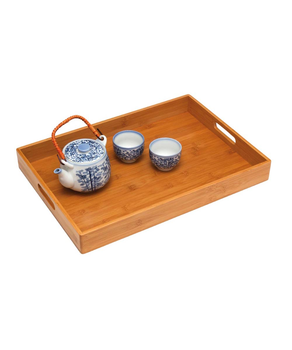 Simply Organized Bamboo Serving Tray