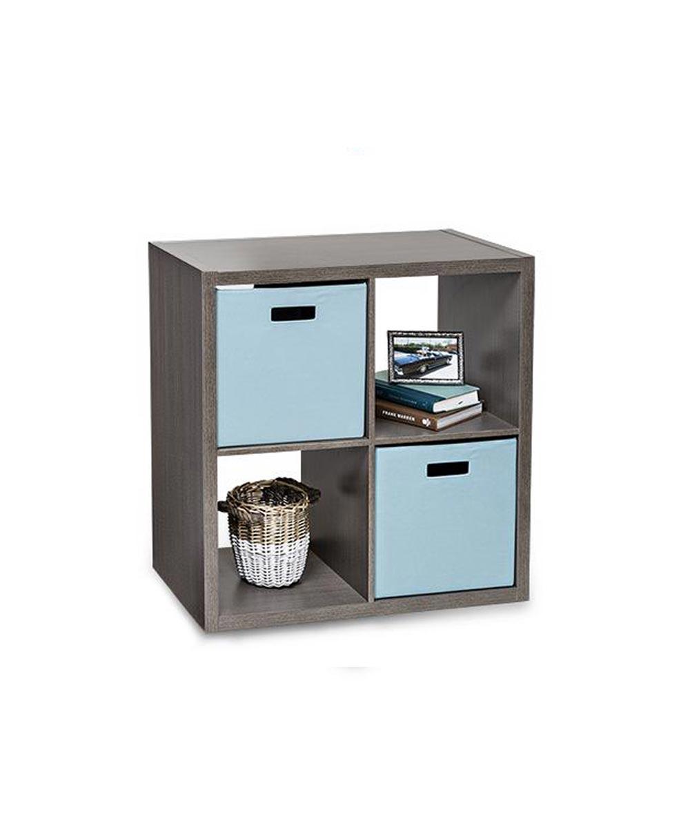 4-Cube Premium Laminate Organizer Shelf