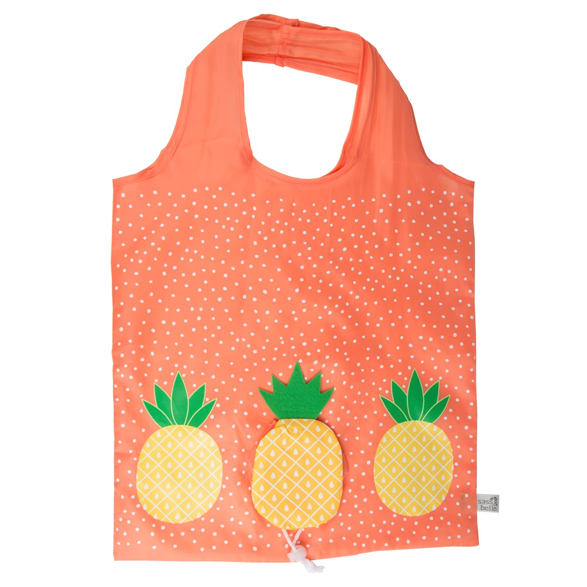 Simply Organized 181205 Foldable Shopping Bag Pineapple