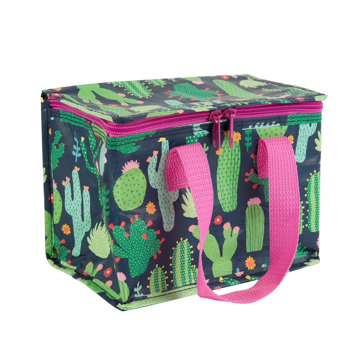 Colorful Cactus Lunch Tote