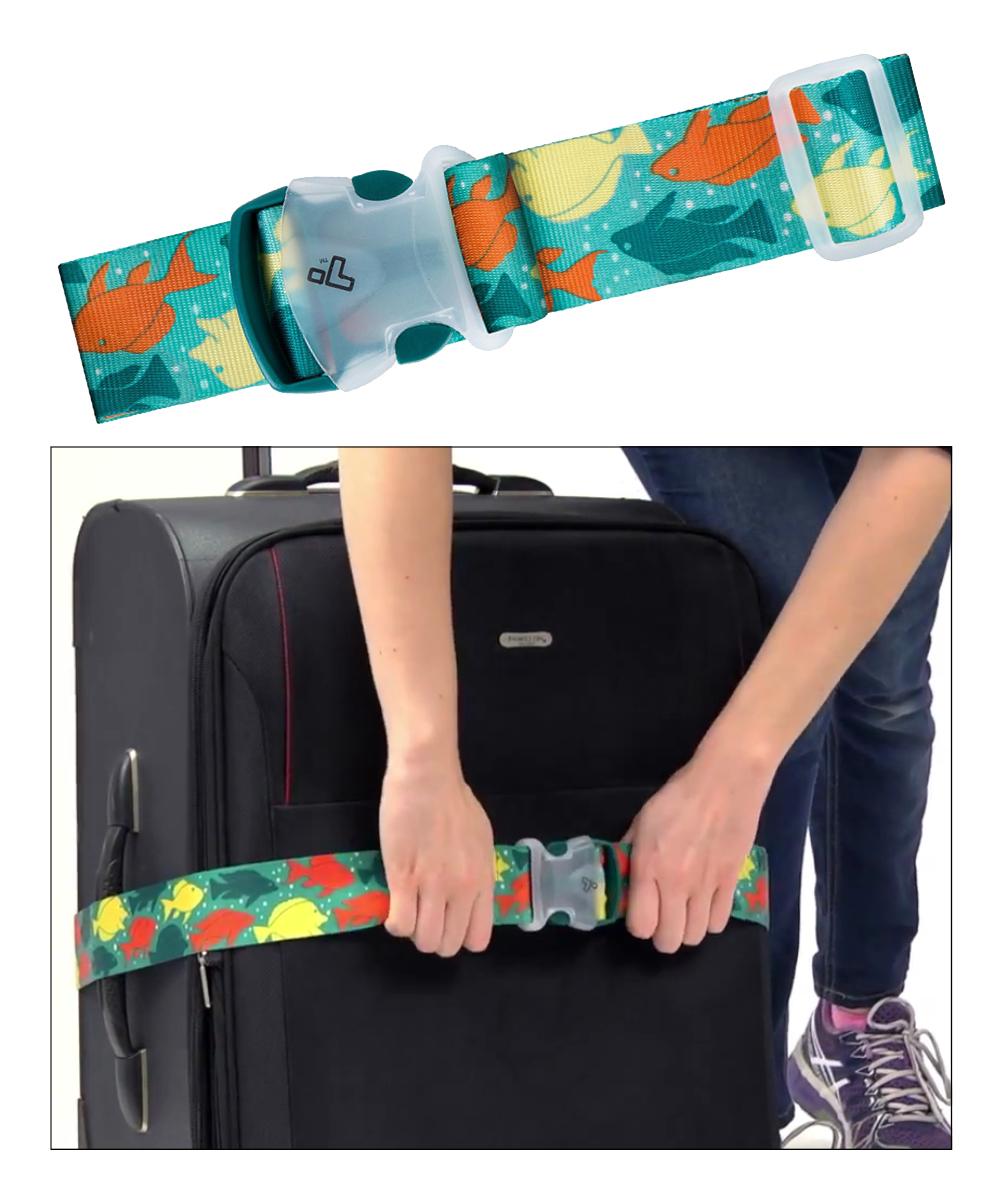 Luggage Strap Fish
