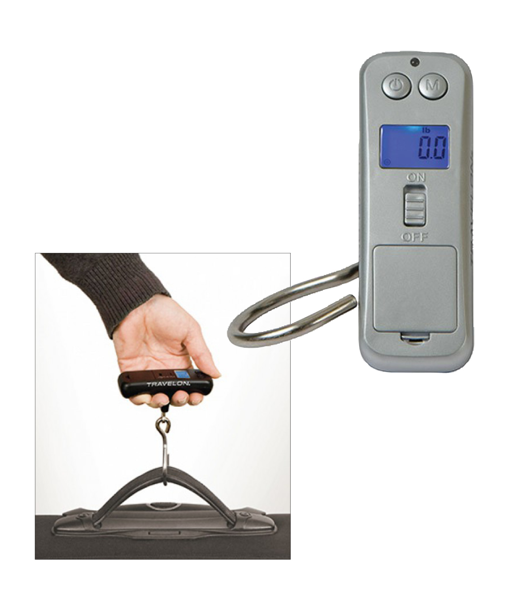 Micro Digital Scale, Silver