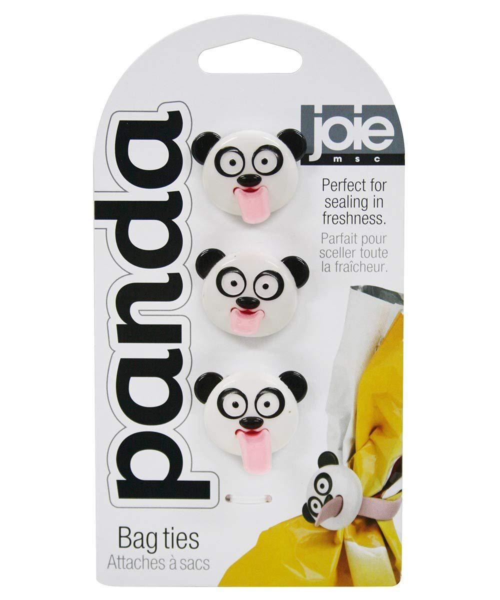 Panda Bag Ties, Set of 3