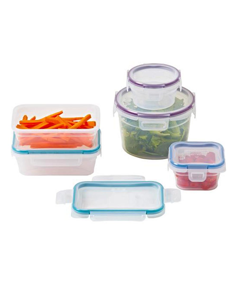 10-Piece Snapware Food Container Storage Set