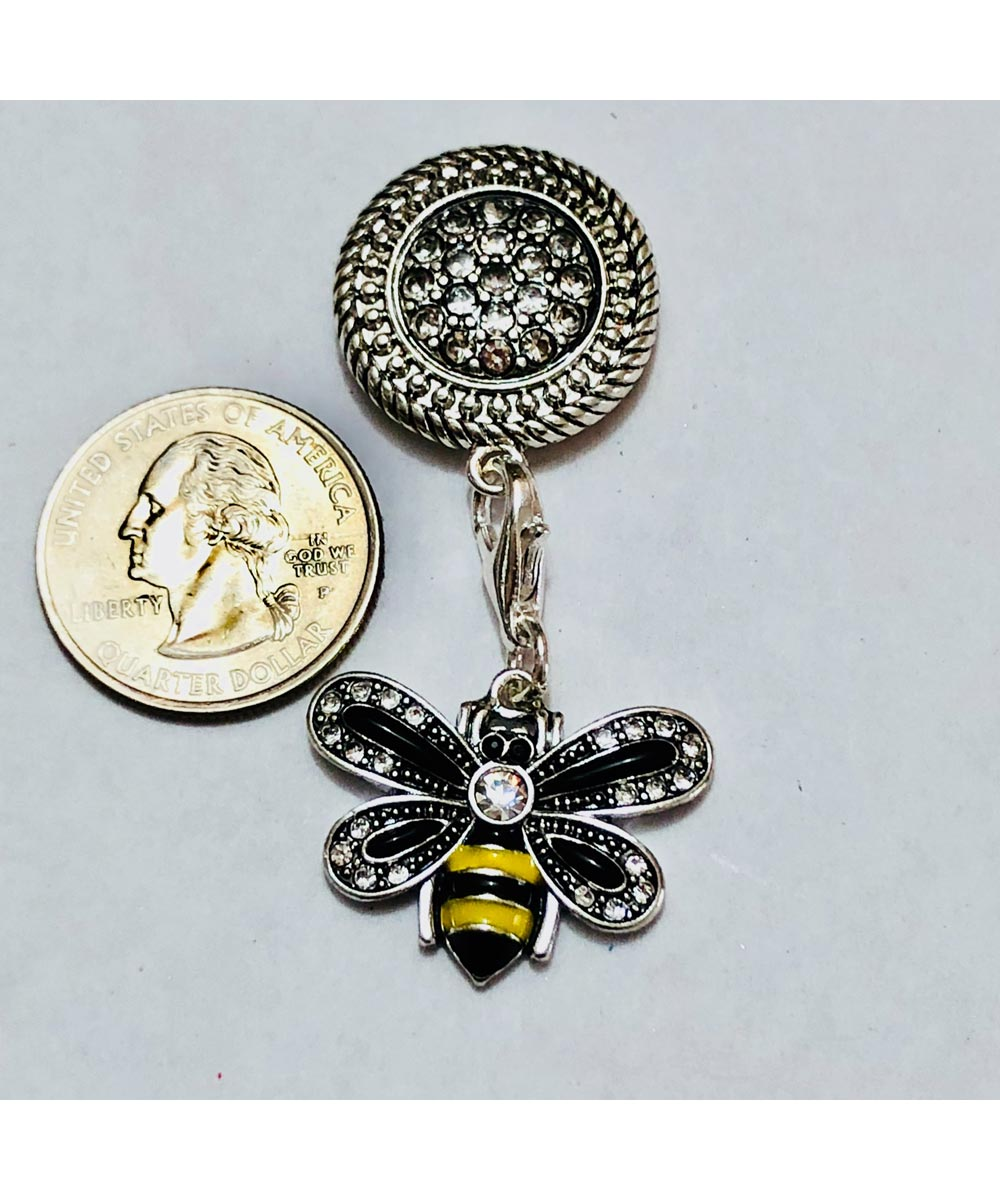 Simply Organized Attractable Bumble Bee Dangle Jewelry