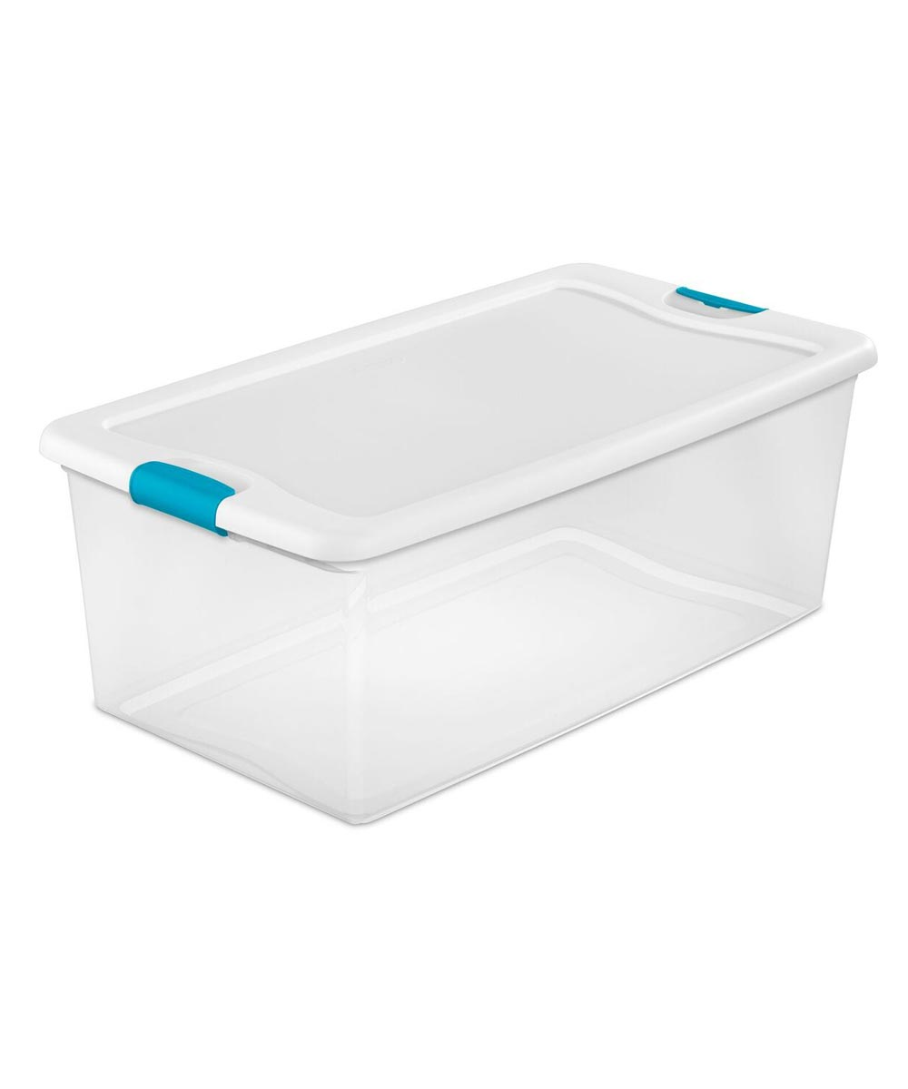 Sterilite Storage Latch Box, 106 Quarts