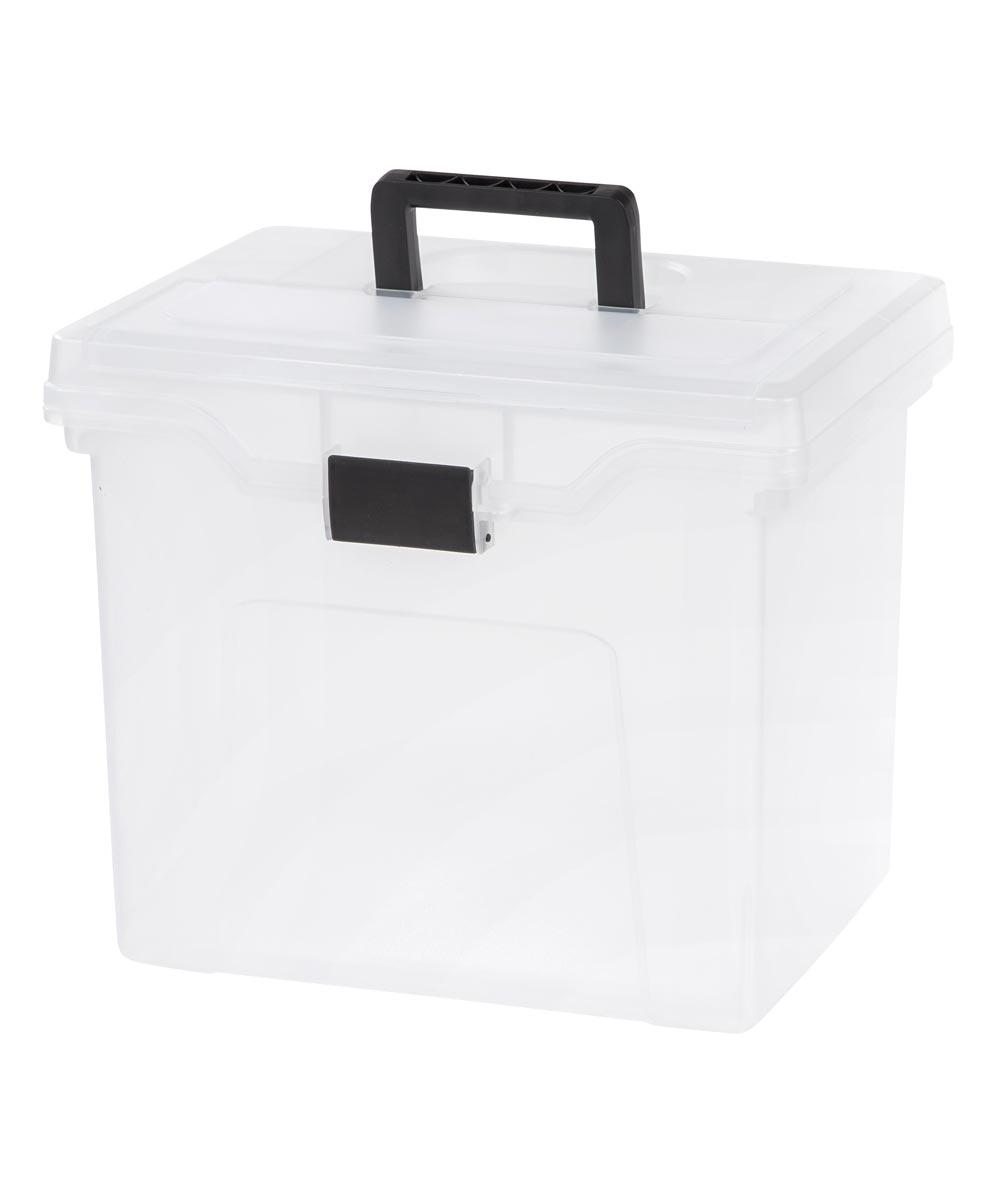 206810 IRIS USA INC PORTABLE LETTER SIZE BOX W/LID