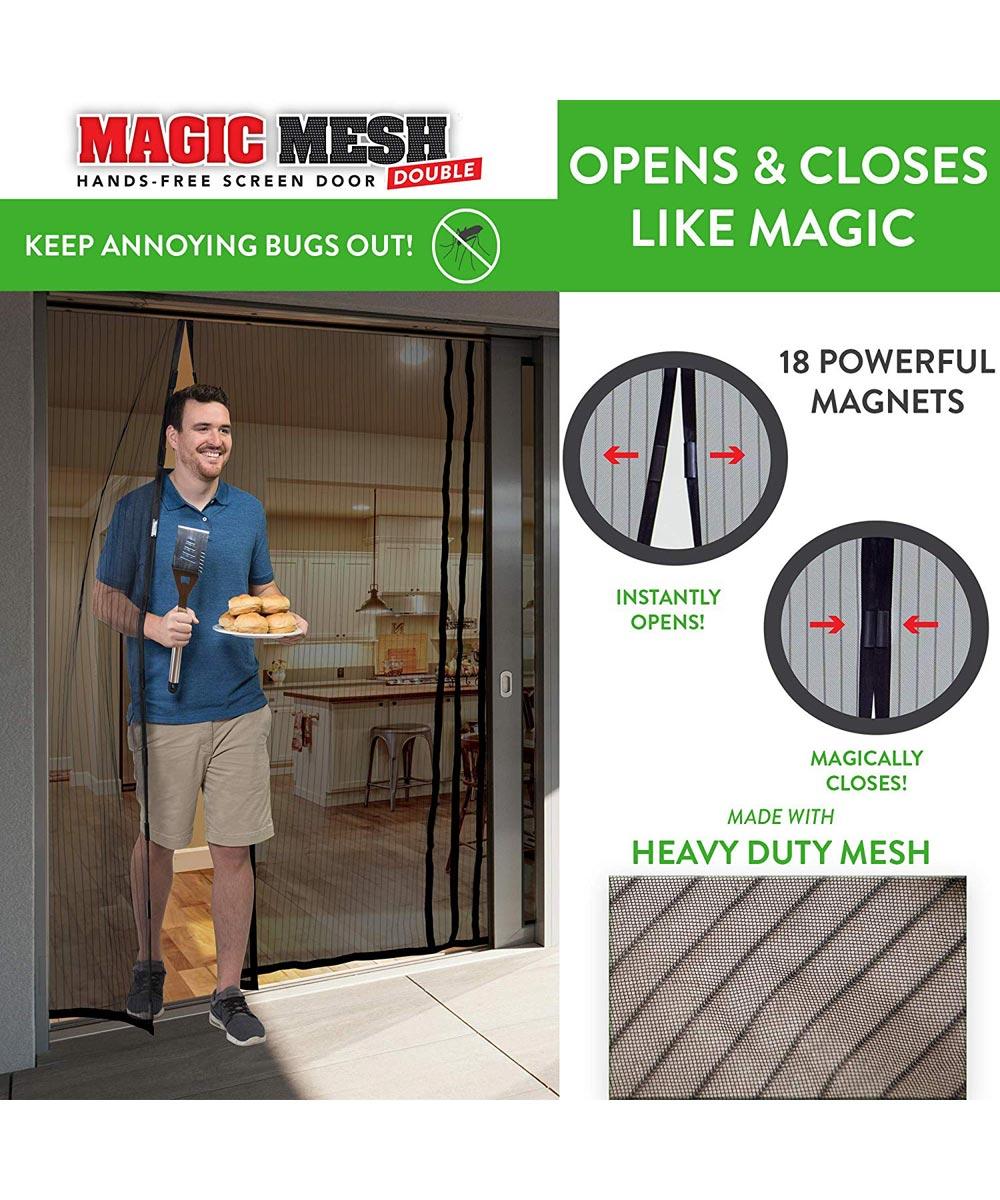 Simply Organized Double Door Magic Mesh Hands Free