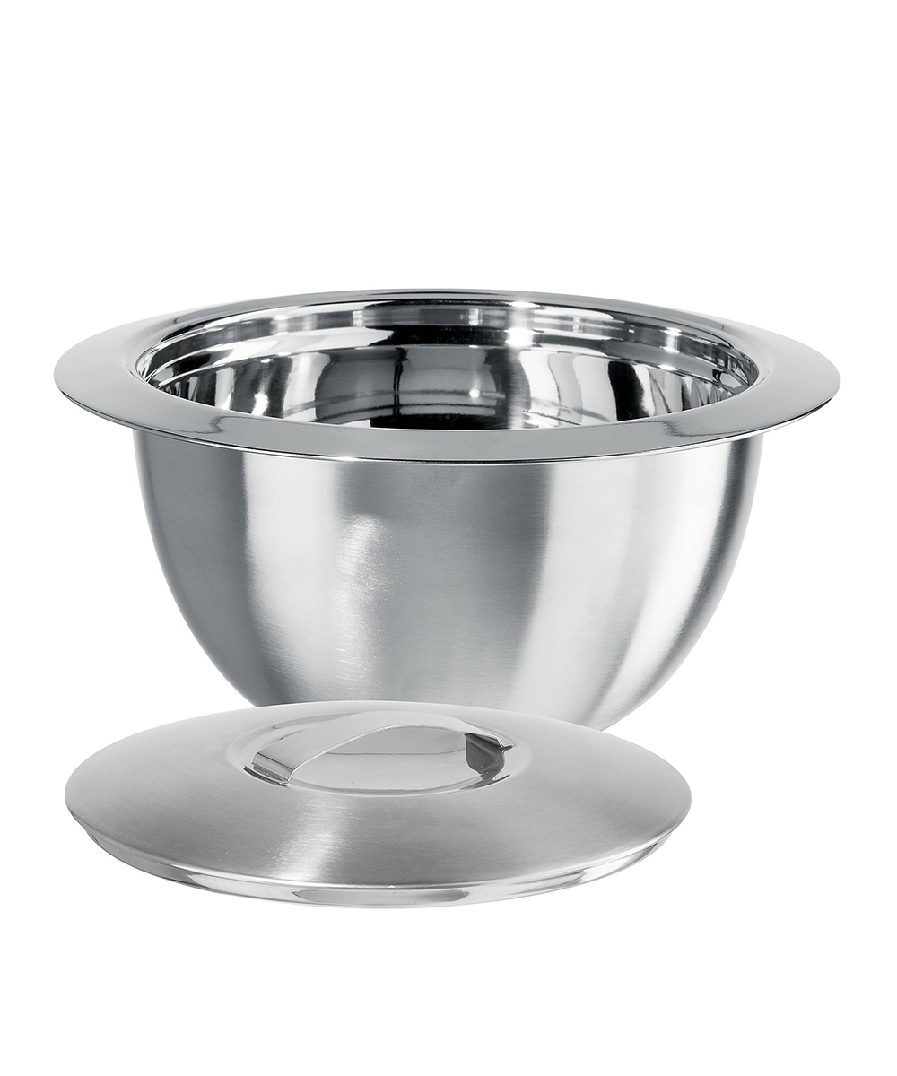 Simply Organized Oggi 2 Quart Thermal Stainless Steel Serving Bowl With Cover