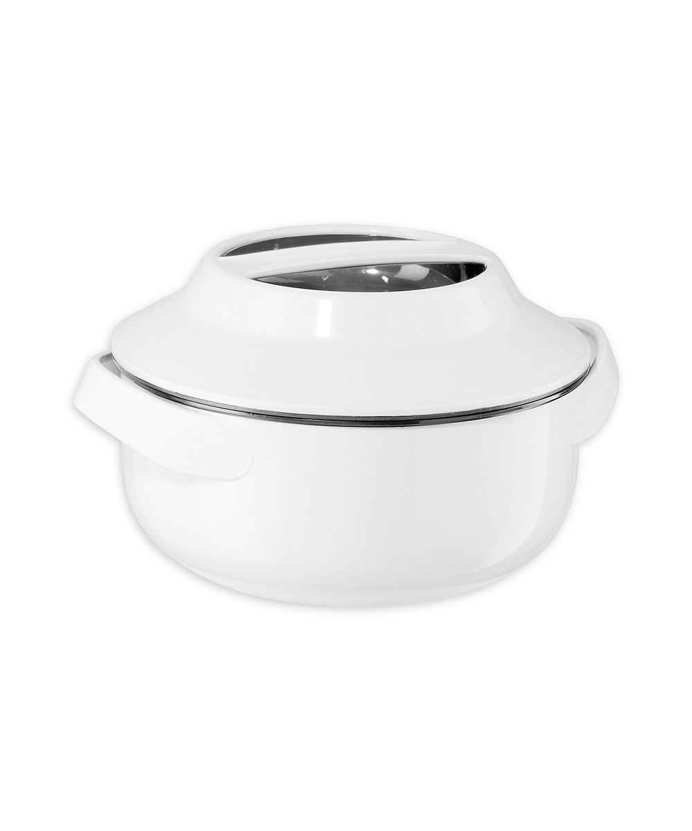 Oggi .8 Quart Microwavable Insulated Casserole Bowl with Stainless Steel Liner