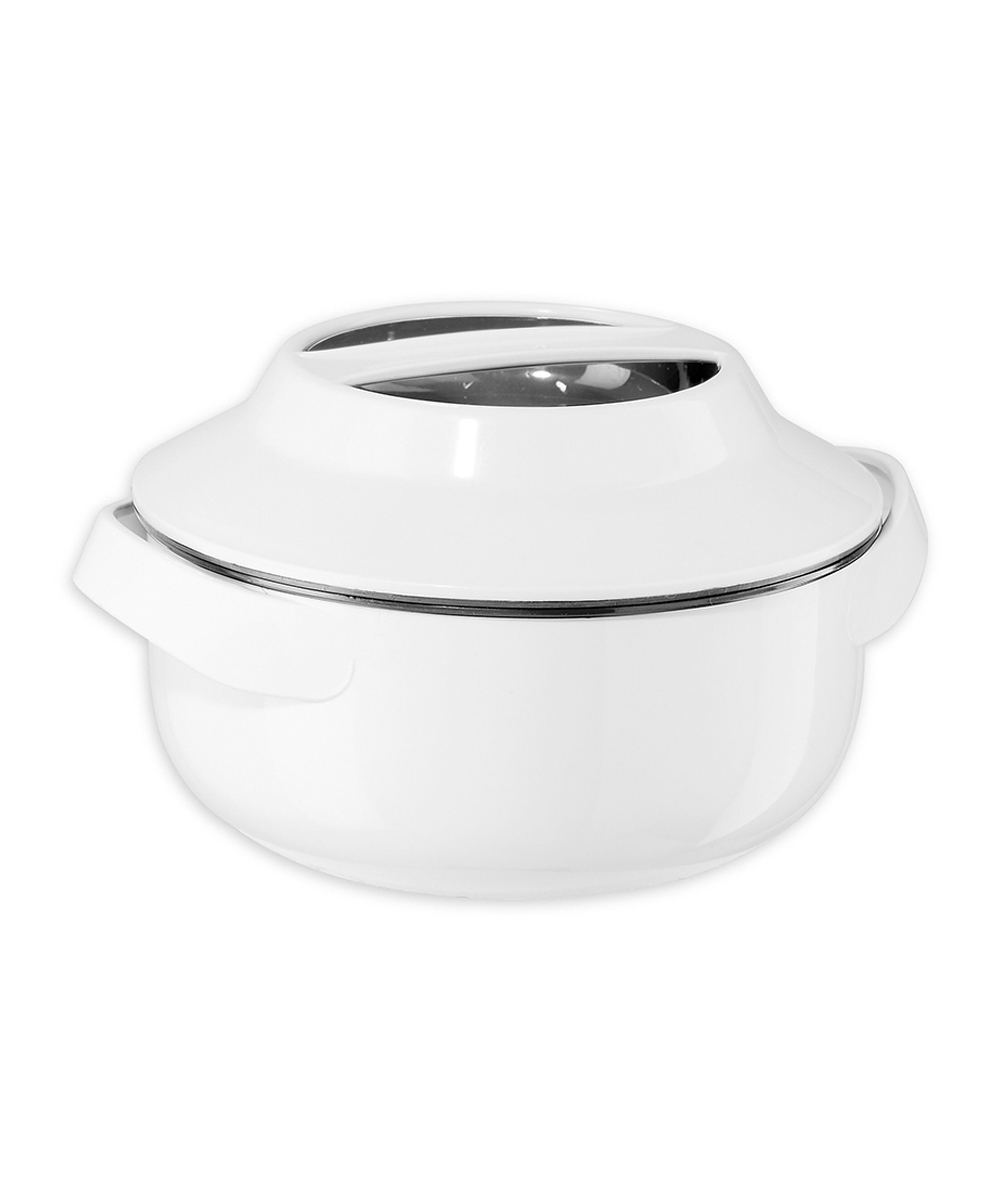Oggi 1.5 Quart Microwavable Insulated Casserole Bowl with Stainless Steel Liner