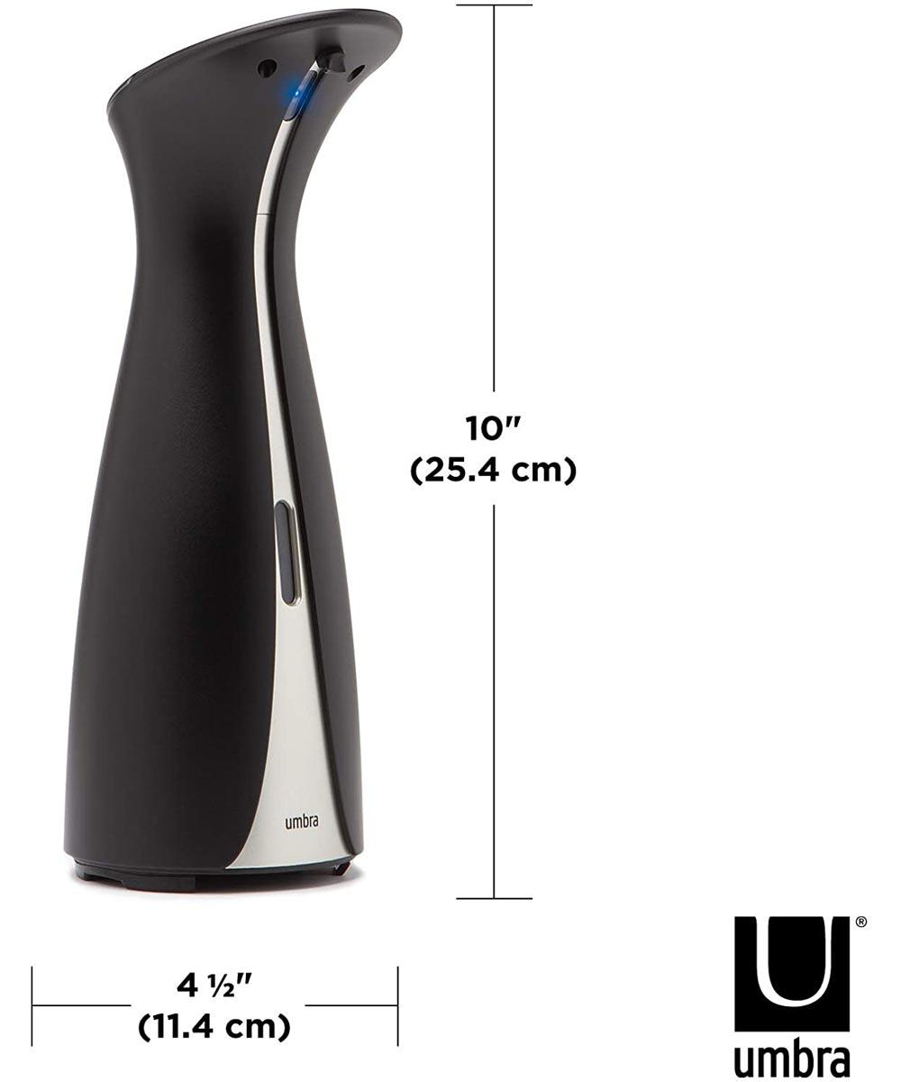 Otto 8.5 oz. Touch-Free Automatic Soap Dispenser, Black