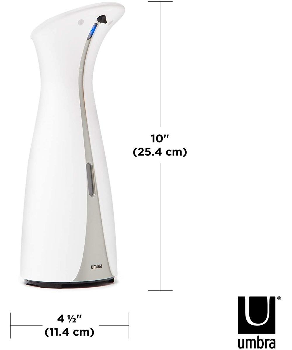 Otto 8.5 oz. Touch-Free Automatic Soap Dispenser, White