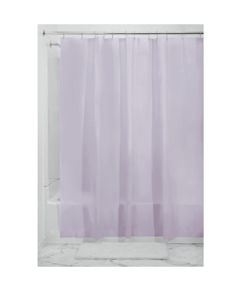 72x72 Inch EVA Vinyl PVC Free Shower Curtain Liner With Metal Grommets Lavendar Color