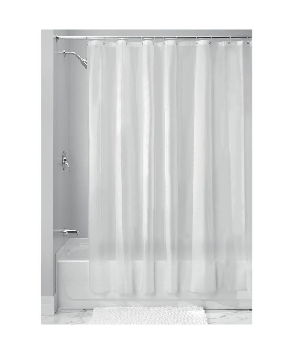 72x72 Inch EVA Vinyl PVC Free Shower Curtain Liner With Metal Grommets Frost Color