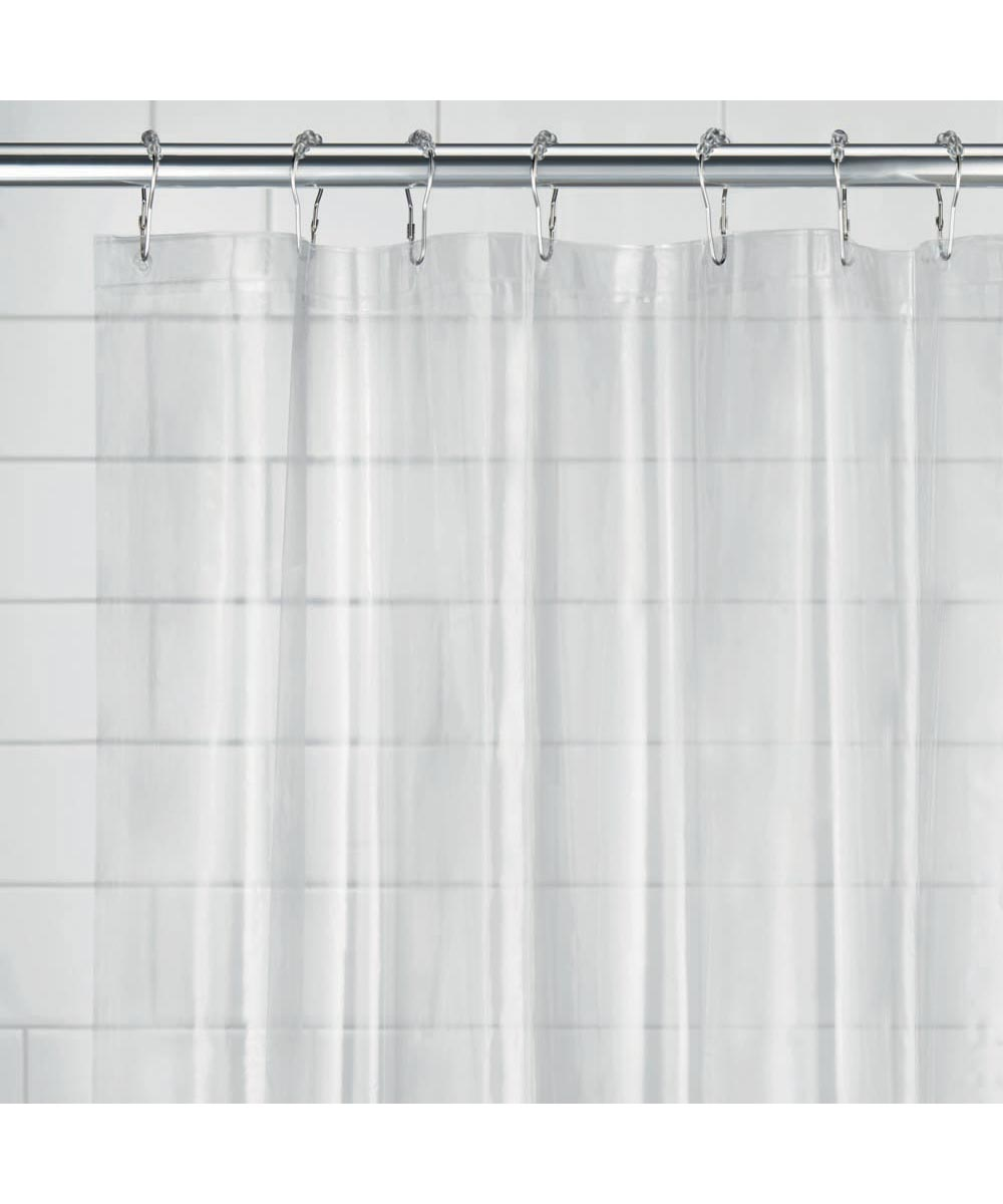 54x78 Inch EVA Vinyl PVC Free Shower Curtain Liner With Metal Grommets Frost Color