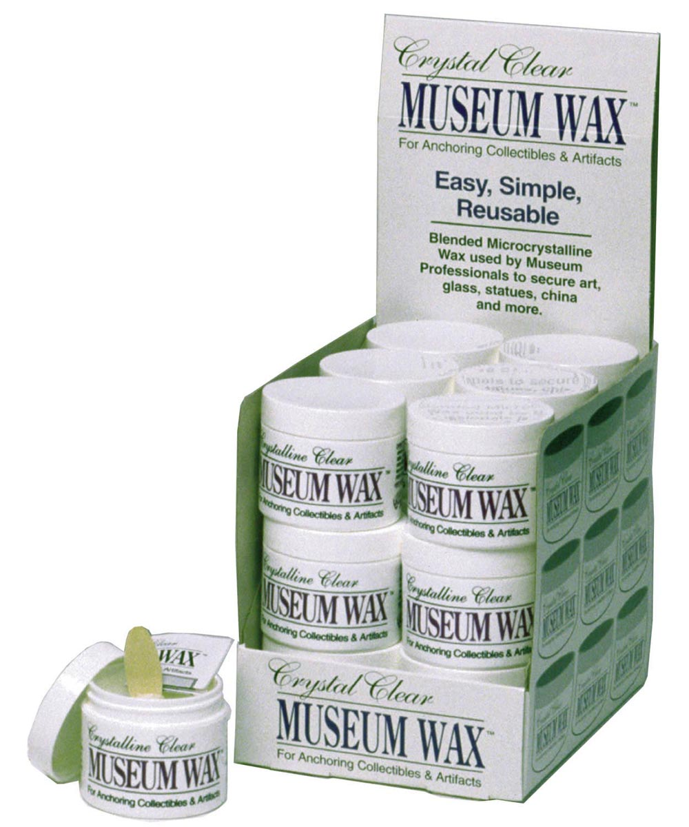 2 Ounce Museum Wax Grip for Collectibles