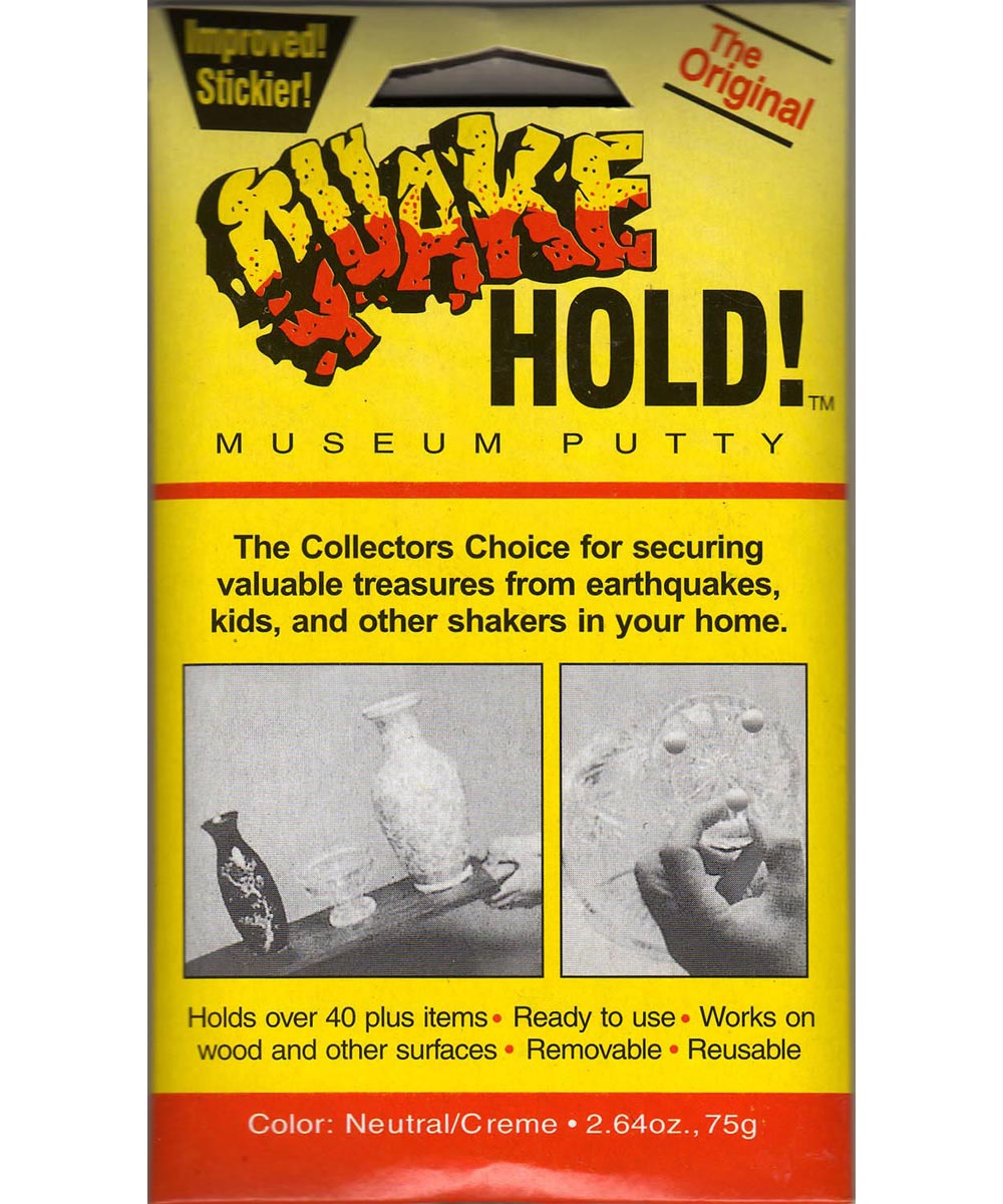 2.64 Ounce Quake Hold Museum Putty