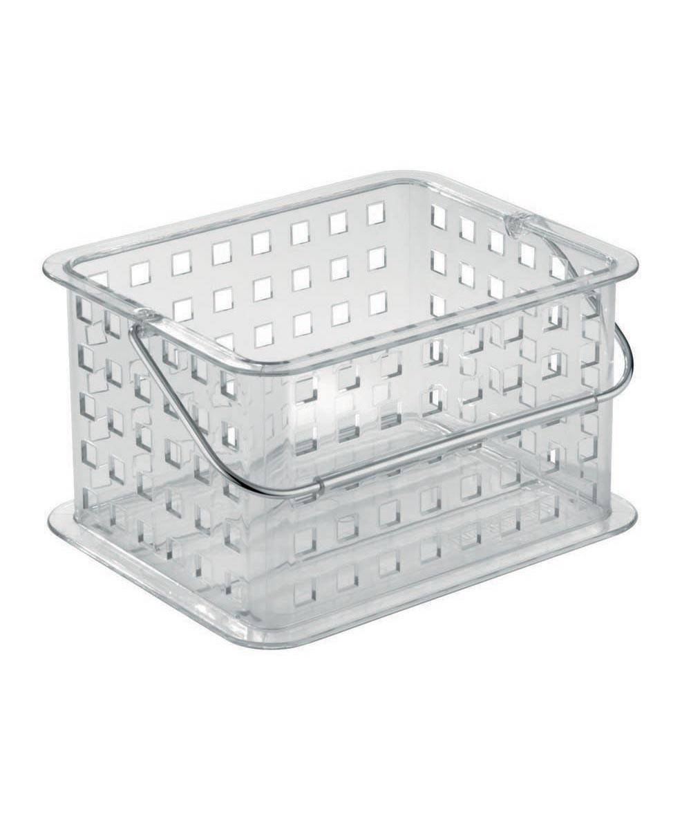 Simply Organized Clarity Small Plastic Storage Basket