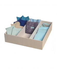 Loft Arrow 3-Compartment Drawer Organizer, Natural Color