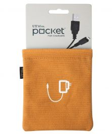 Orange Pocket For Chargers