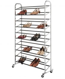 50-Pair Shoe Rack Tower