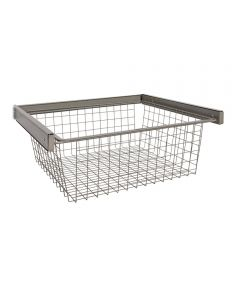 Reveal Wire Basket, Nickel