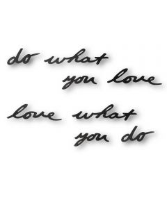 "Mantra Wall Decor, ""Do What You Love?"""