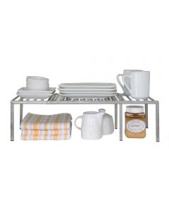 Mini Iron Expandable Kitchen Cabinet Shelf Organizer