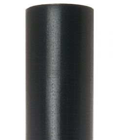 "18"" x 4' Con-Tact Brand Zip-N-Fit Black Shelf Liner"