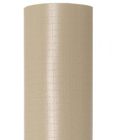 "18"" x 4' Con-Tact Brand Zip-N-Fit Taupe Shelf Liner"