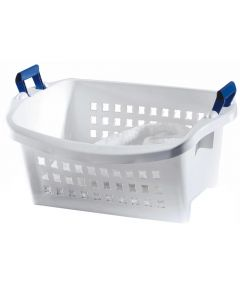 White Stack'n Sort Laundry Basket