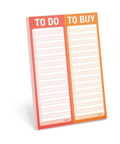 To Do / To Buy Perforated Writing Pad