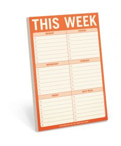 To Do This Week Writing Pad